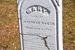 Mary <i>King</i> Baker