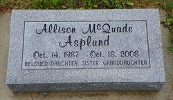 Allison McQuade Asplund
