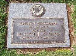 Wesley Thurman Alexander