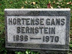 Hortense <i>Gans</i> Bernstein