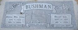 Bonnie Mae <i>Snow</i> Bushman