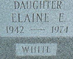Elaine E <i>Talley</i> White