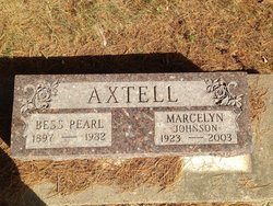 Marcelyn Johnson Axtell