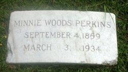 Minnie <i>Woods</i> Perkins