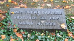 Mary <i>Brown</i> Garfield