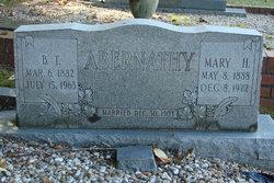Mary Alice <i>Howell</i> Abernathy