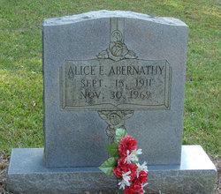 Alice Eliza Abernathy