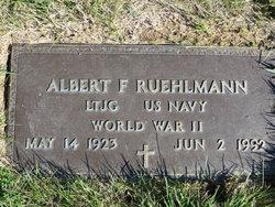 Albert F Ruehlmann
