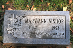 Mary Ann <i>VanHorn</i> Bishop