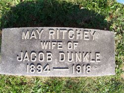 May Ellen <i>Ritchey</i> Dunkle