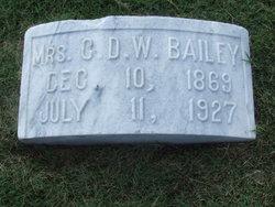 Elizabeth Bessie <i>Foster</i> Bailey