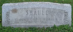 Clarence G Shaull