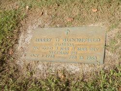 PFC Harry Gene Bloomfield