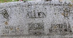 Mary E <i>Whitt</i> Allen
