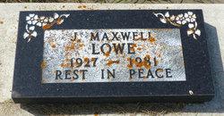 J Maxwell Lowe