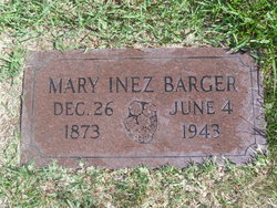 Mary Inez <i>Smith</i> Barger
