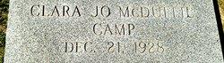 Clara <i>McDuffie</i> Camp