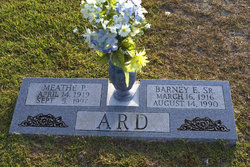 Barney Edward Ard, Sr