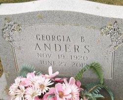 Georgia <i>B</i> Anders