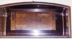 Agnes Eleanore <i>Hicklin</i> Axton McMahon