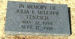 Julie E. <i>McDuffie</i> Linzsch