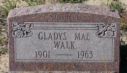 Gladys Mae <i>Moore</i> Walk