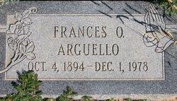 Francesquita Ofelia Frances <i>Gonzales</i> Arguello