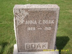Anna E. Boak