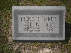 Irene Angelette <i>Kelly</i> Baker