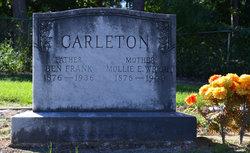 Mollie E <i>Wright</i> Carleton
