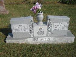 Louise Virginia Aunt Sis <i>Knight</i> Nicholson