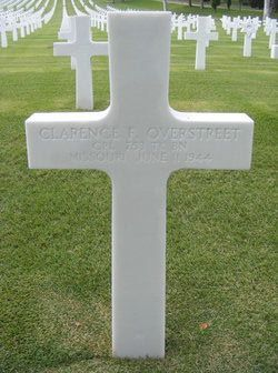 Corp Clarence Frederick Overstreet