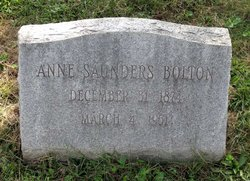 Anne Saunders Bolton