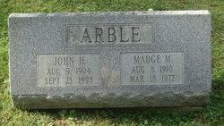 Madge M. <i>Leasure</i> Arble