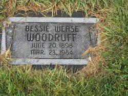 Bessie Catherine <i>Wease</i> Woodruff