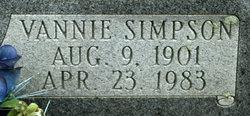 Alvania Vannie <i>Simpson</i> Akin