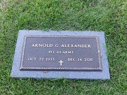 PFC Arnold G. Alex Alexander