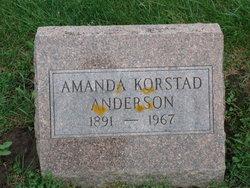 Amanda <i>Korstad</i> Anderson