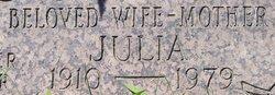 Julia Julie <i>Czentnar</i> Nagy