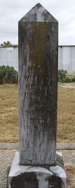 Mary Anna <i>Saathoff</i> Kueck