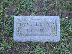 Orange L. Culver