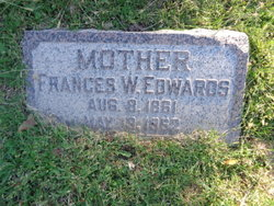 Frances <i>Woodmansee</i> Edwards