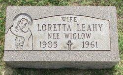 Loretta <i>Wiglow</i> Leahy