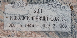 Fredrick Marvin Cox, Jr