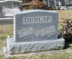 Anna Lee Annie <i>Elliott</i> Dunlap