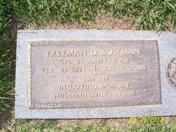Freeman D. Bowman