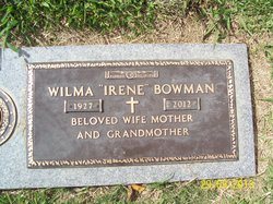Wilma Irene Bowman