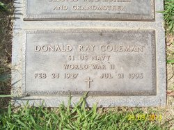 Donald Ray Coleman