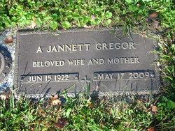 A Jannett Gregor