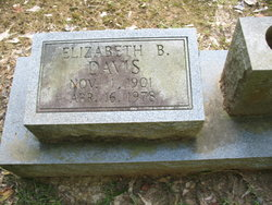 Elizabeth B Davis
